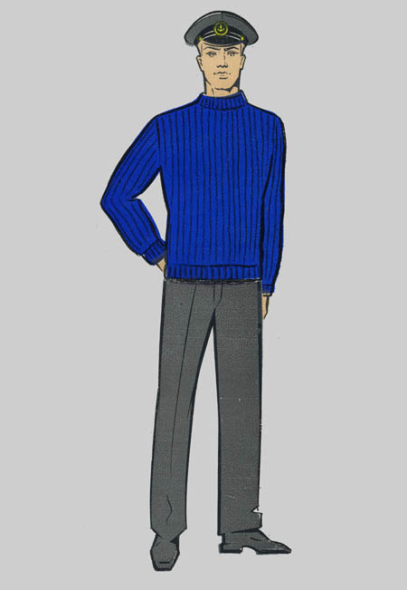 Джемпер форменный с накладками доставка